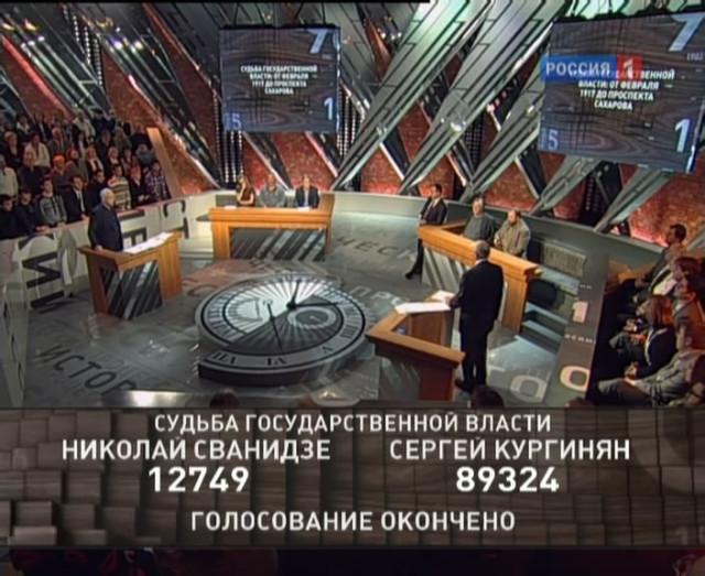 Судьба государственной власти: от февраля 1917 г. – до проспекта Сахарова