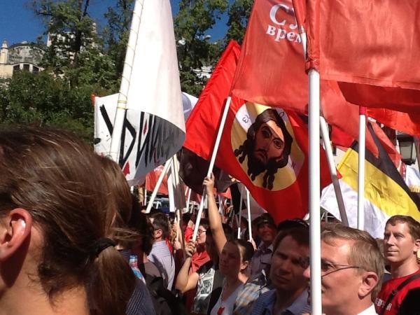 Митинг Православные