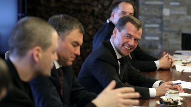 Удальцов Медведев