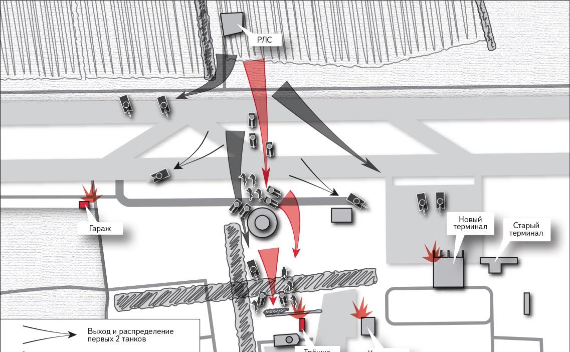 бой в аэропорту Донецка отряд Суть времени