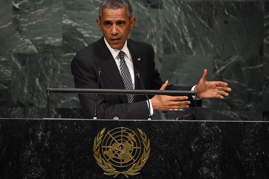 Обама в оон