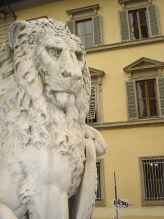 Сердитые львы Флоренции2
