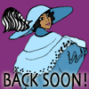 Back Soon! icon by fringekitty