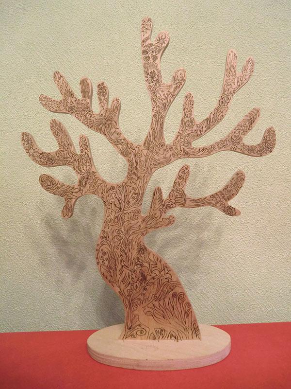 дерево целиком