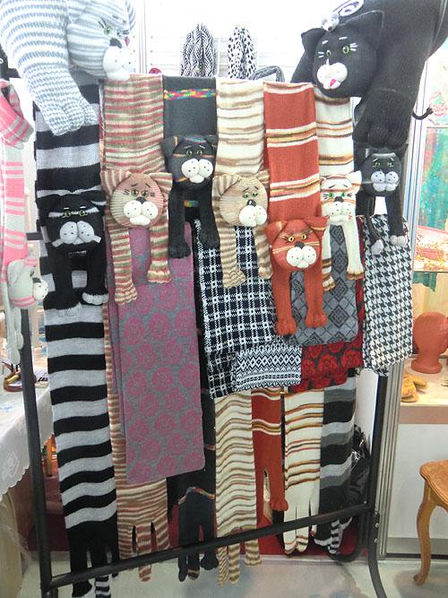 шарфы коты