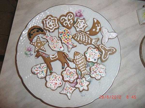 украшенное печенье