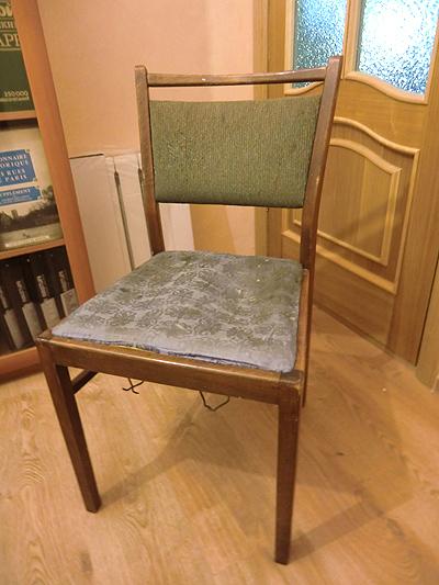 стул старый