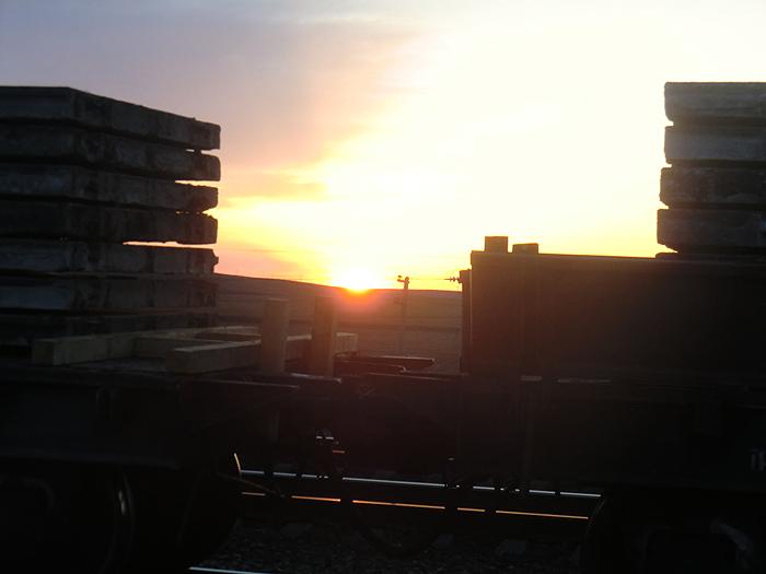 рассвет в Ашулуке