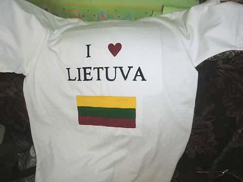 футболка Литва