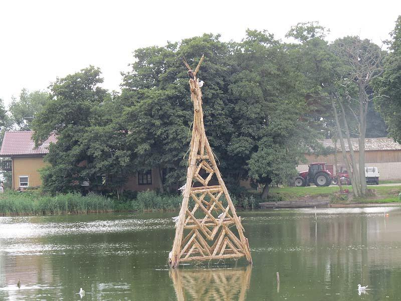 скульптура в заводи