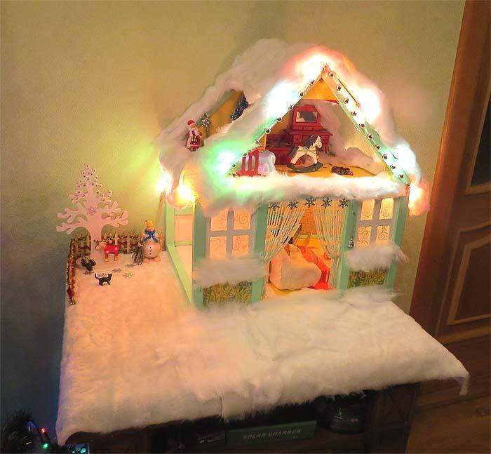 новогодний домик 2