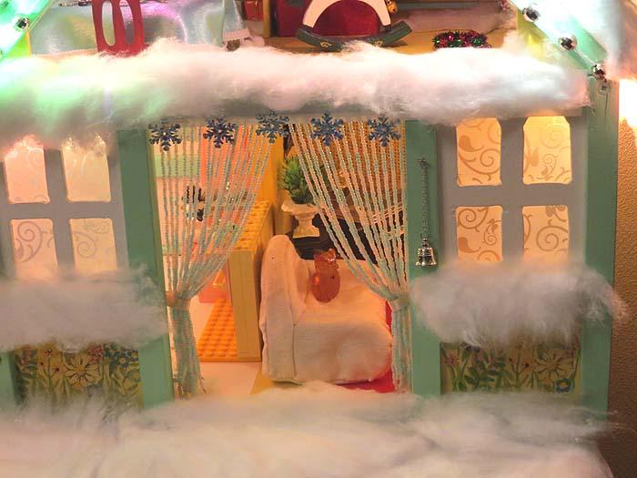 новогодний домик 4