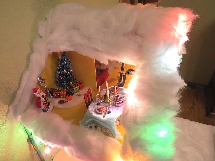 новогодний домик 5