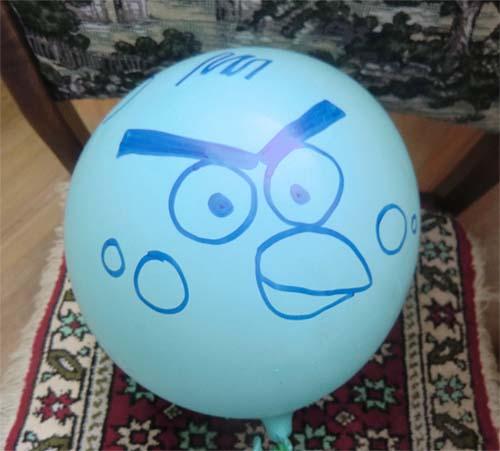 сердитый шарик