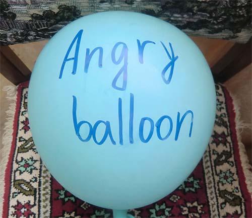злой шарик