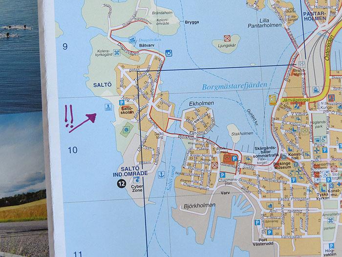 карта карлскруны