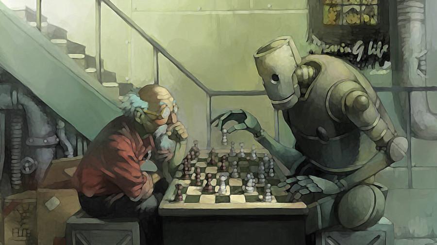 robot-und-chess