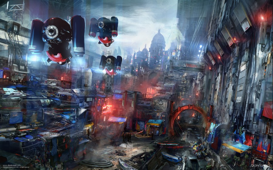 Город-будущего-Азия
