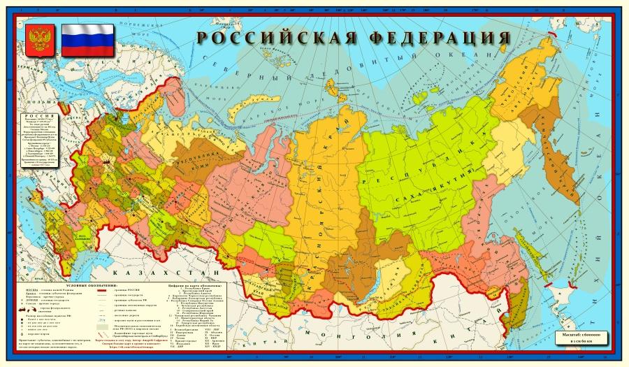 Новая карта России, опасные шведские гетто и отупляющее вождение