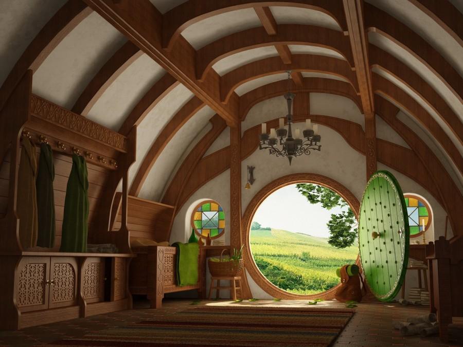 Дом богатого хоббита