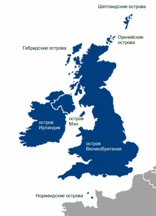 География_Британских_островов