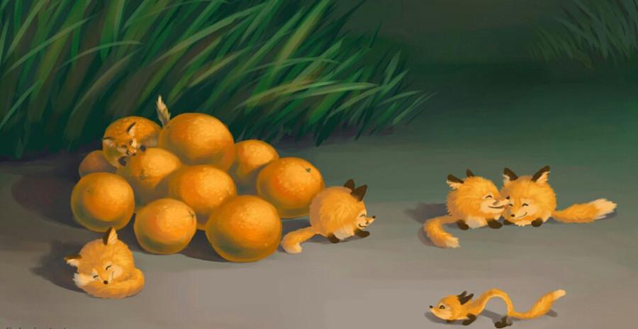 Апельсиновые лисы