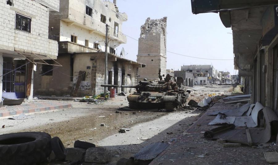 Мирный протест в Сирии