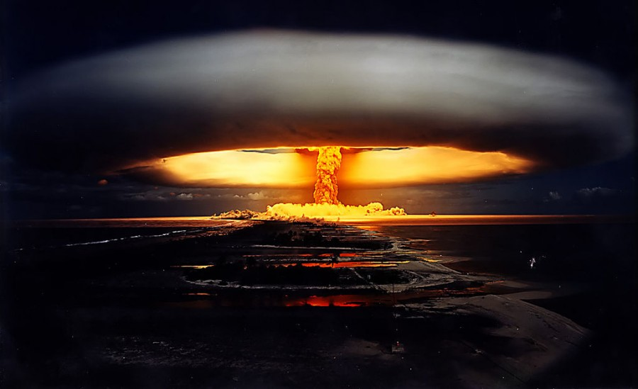 Ядерный-взрыв