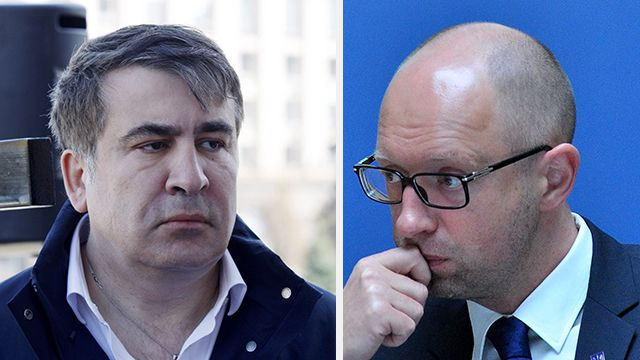 Саакашвили против Яценюка – кому это нужно?