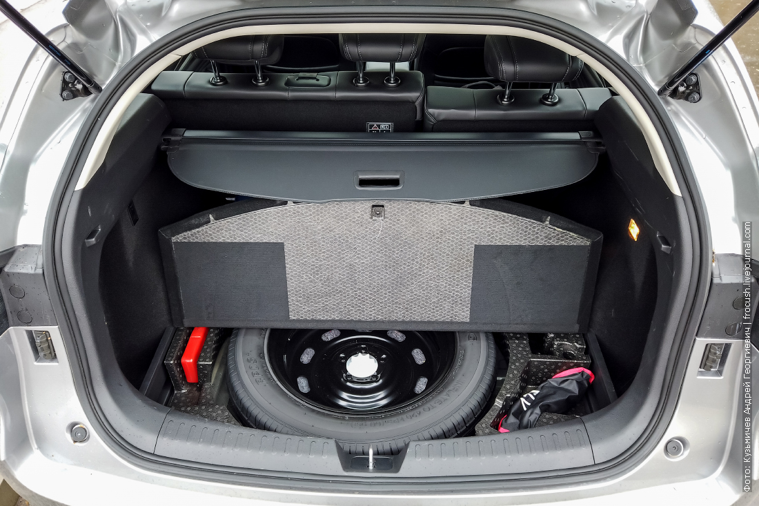 докатка в багажнике haval f7