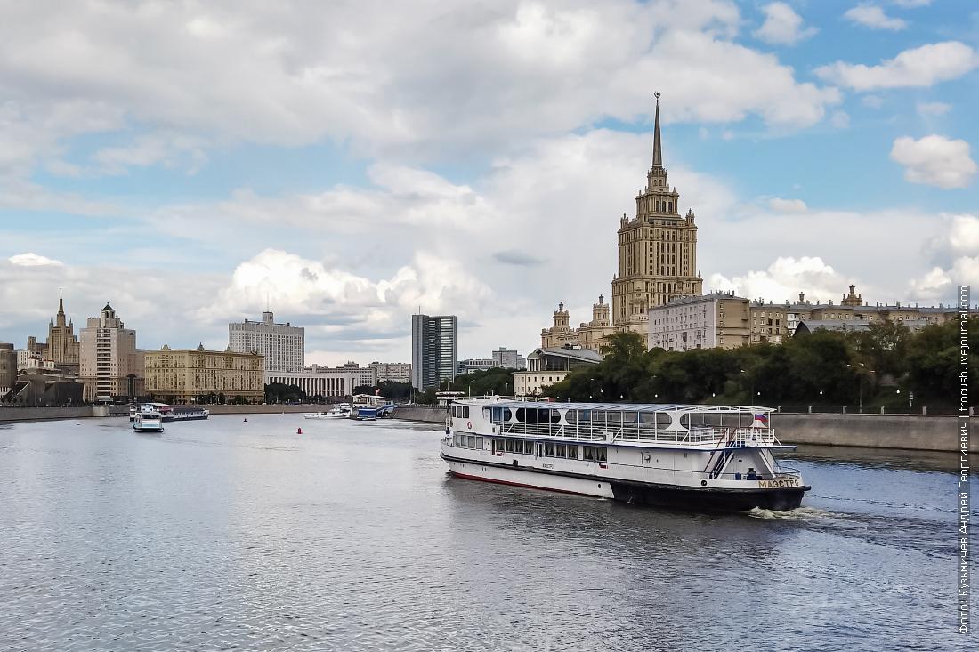 теплоход маэстро река москва