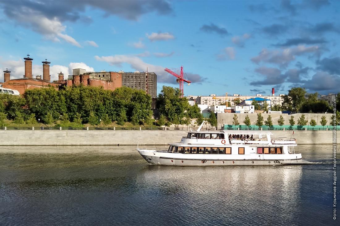 москва-река теплоход уникум