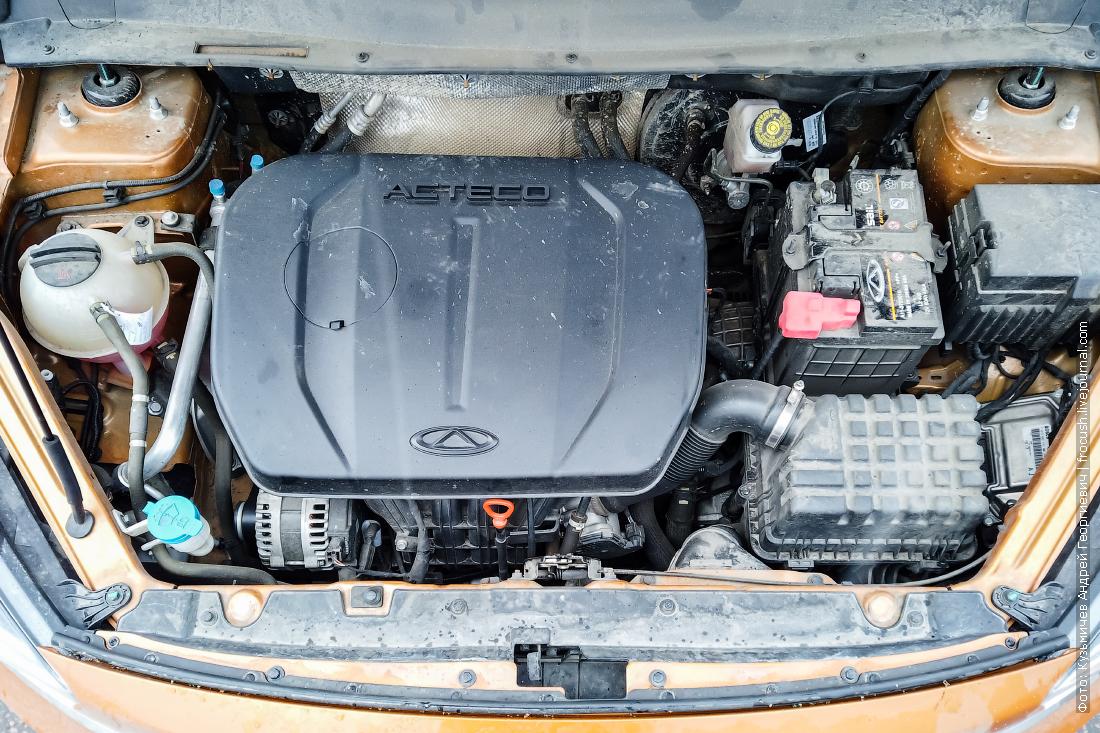 двигатель чери тигго 7