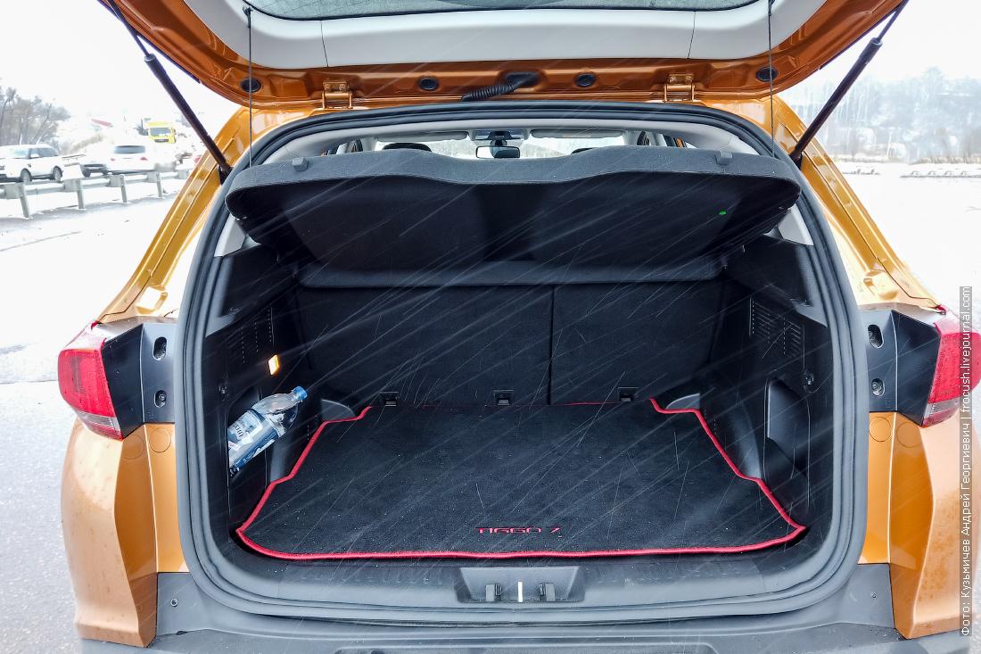багажник chery tiggo 7