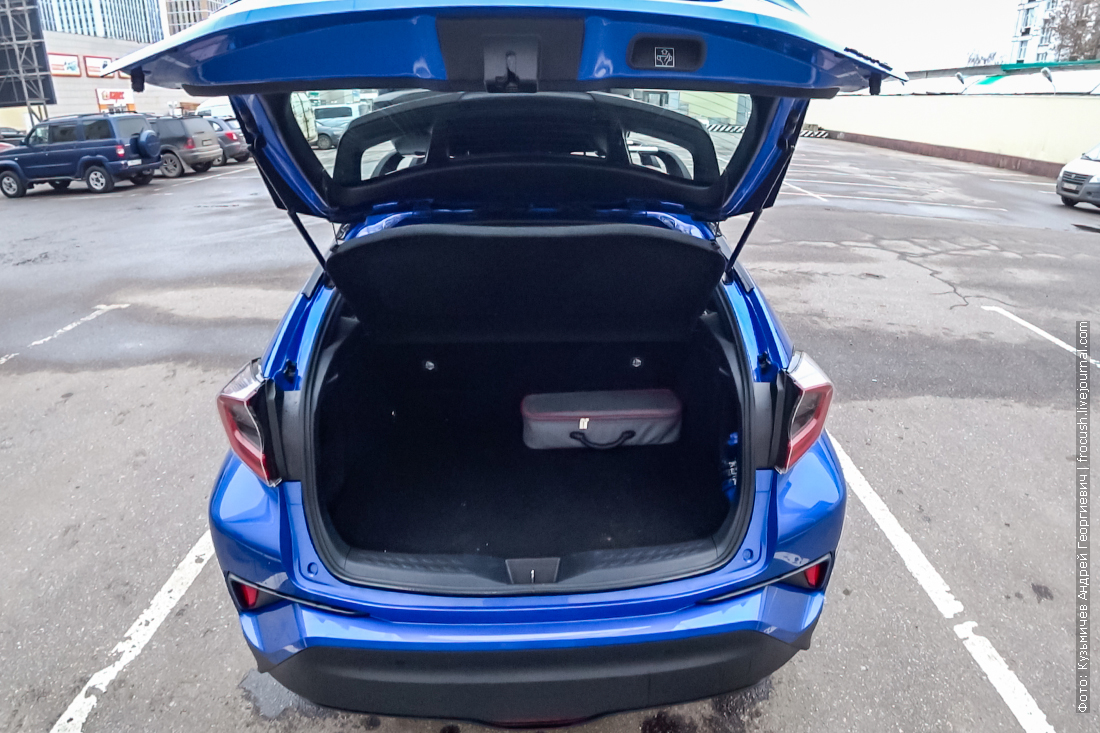 багажник тойота c hr
