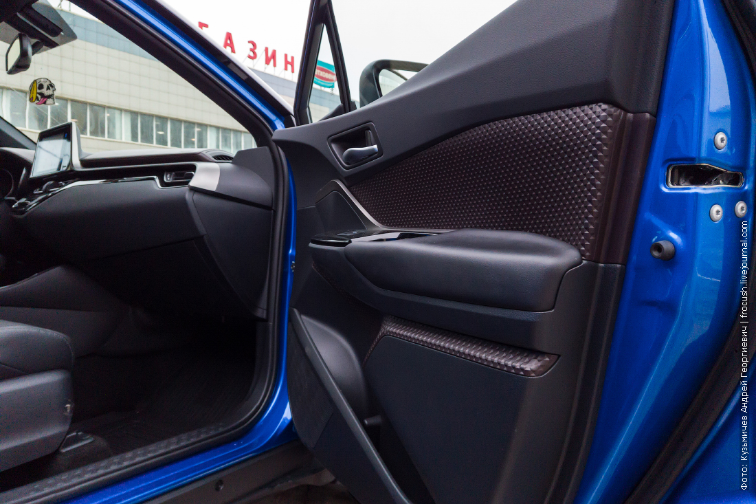 передняя пассажирская дверь тойота c hr