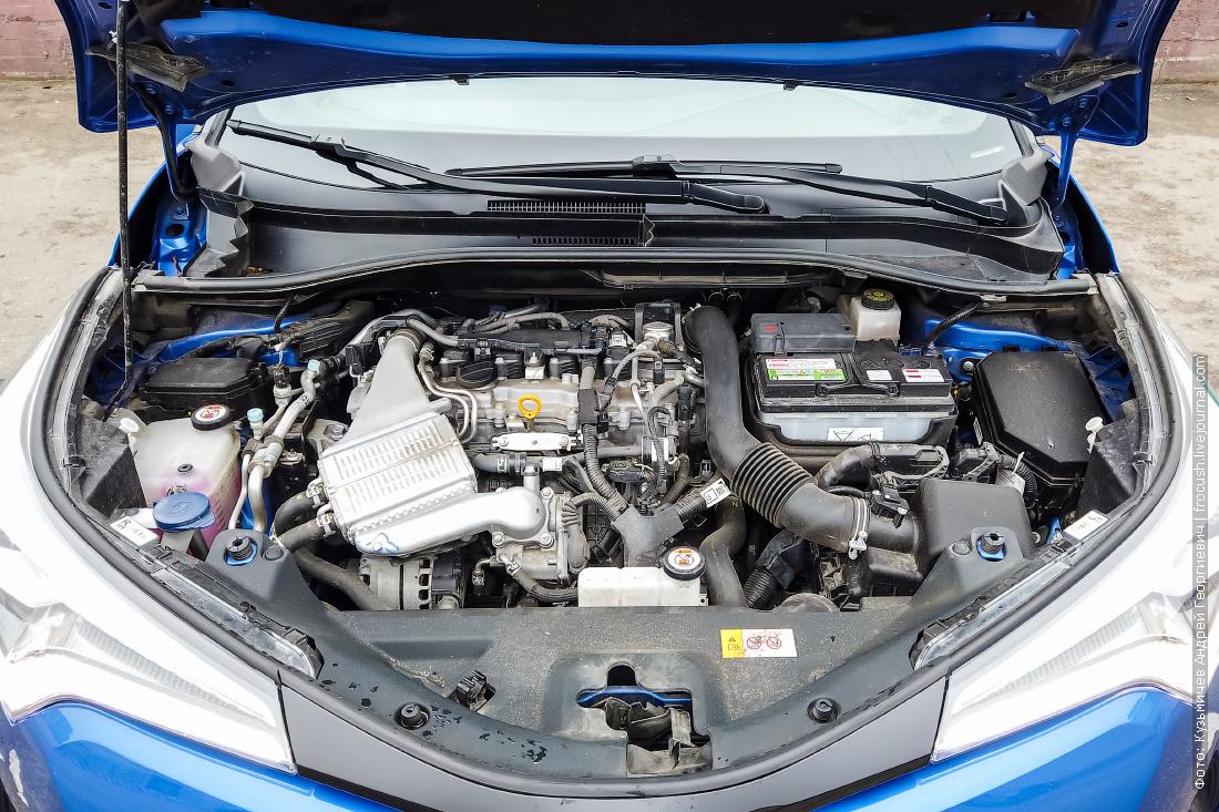 двигатель тойота c hr