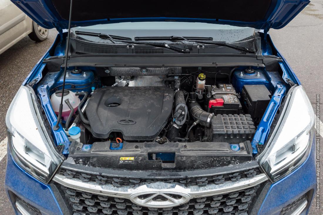 двигатель чери тигго 4