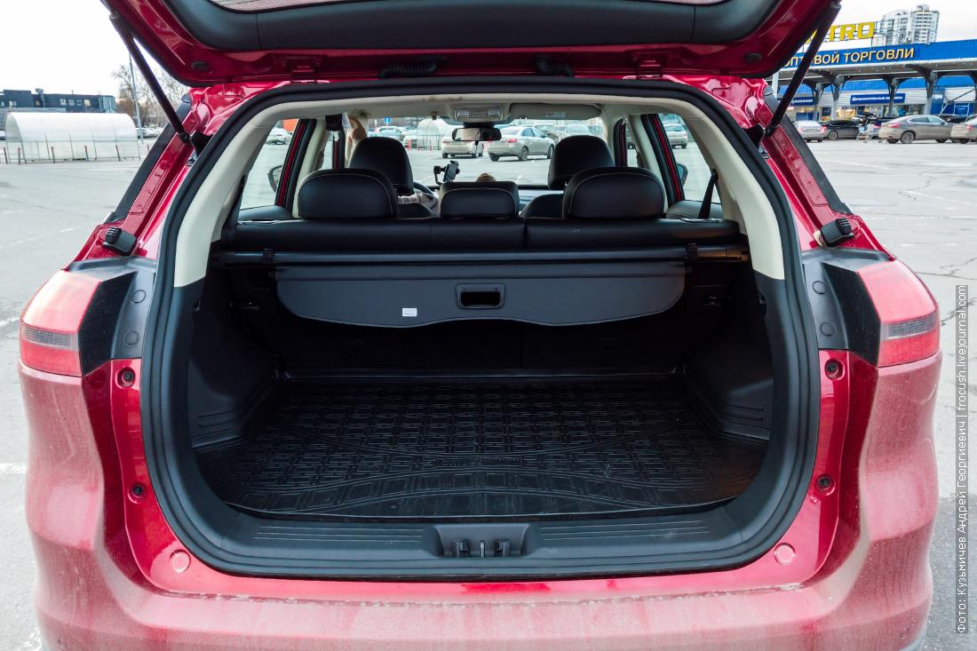 geely atlas багажник