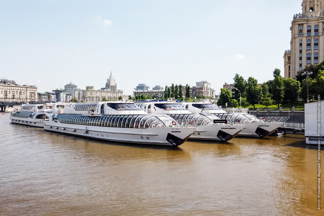 запрет на пассажирские перевозки по Москве-реке