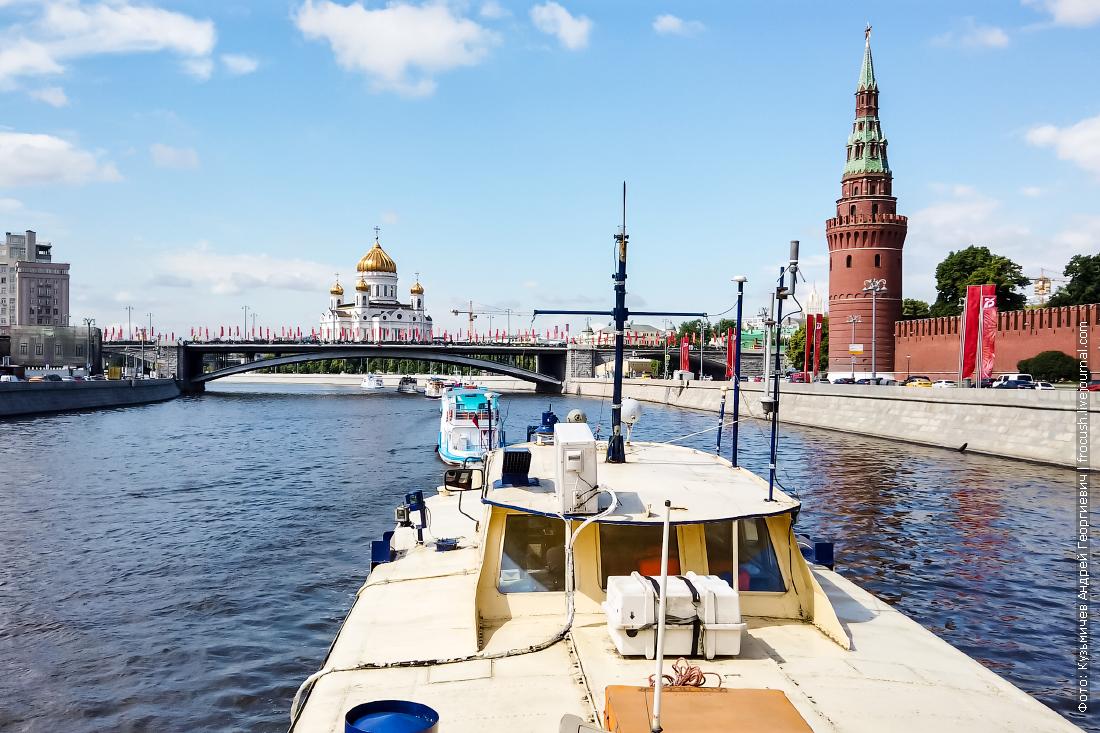 открытие прогулочной навигации по москве реке