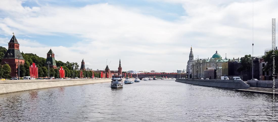 парад теплоходов открытие летней навигации на москве реке