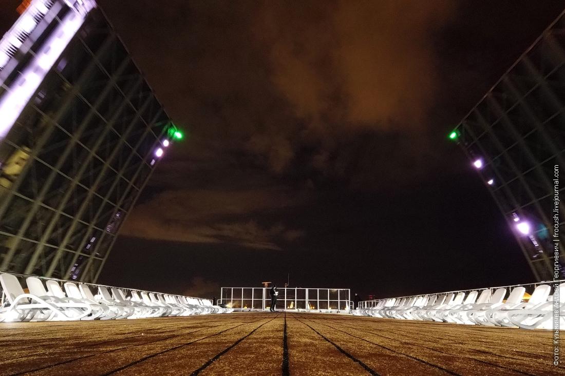Дворцовый мост ночное фото