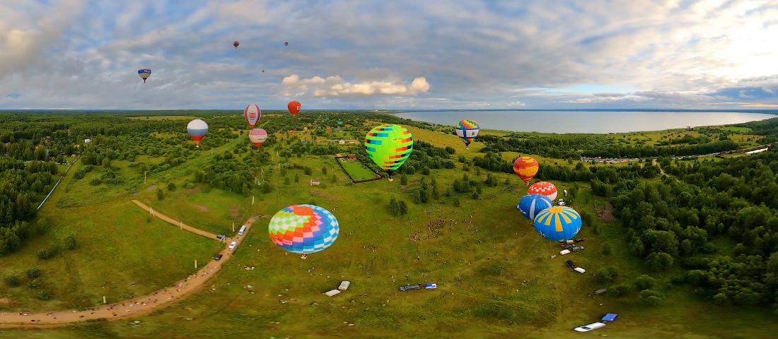 фильм о полетах на воздушном шаре