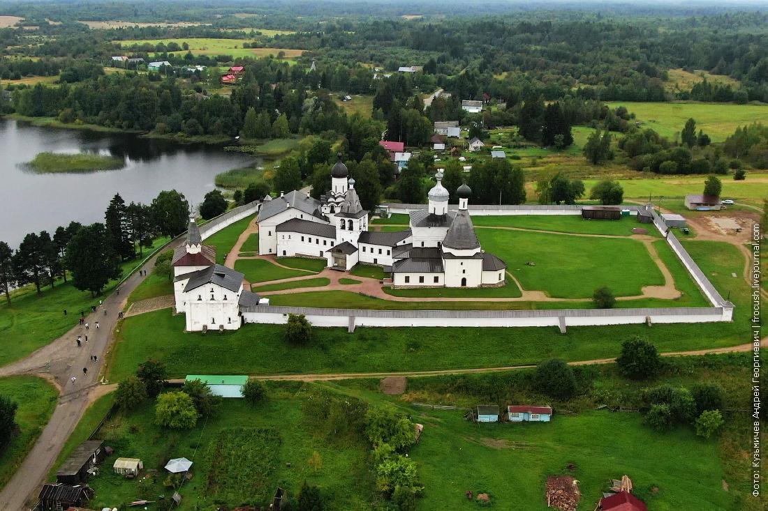Ферапонтов Белозерский Богородице-Рождественский монастырь