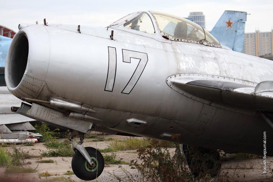 МиГ-15 в Москве на Ходынке