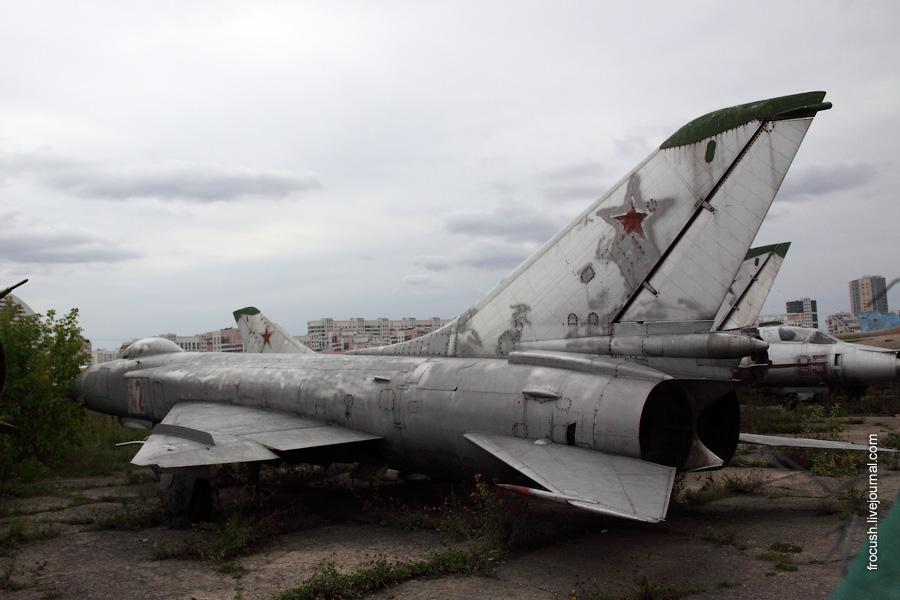 Су-15 в Москве на Ходынском поле