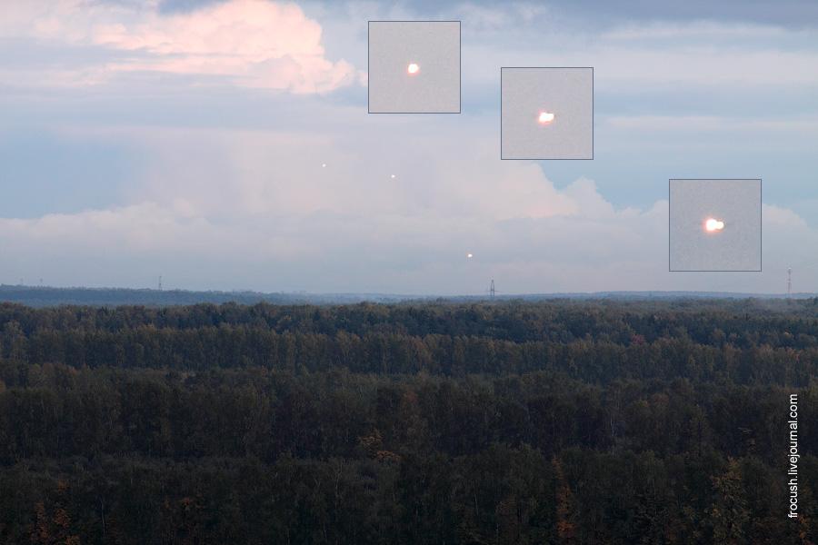 Три самолета в Домодедово