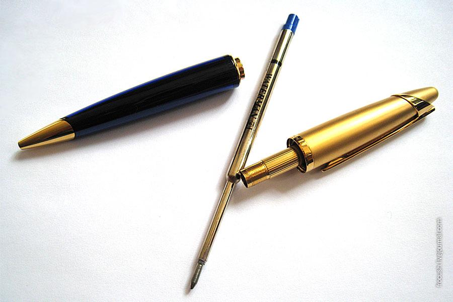 Разобранная шариковая ручка Waterman Edson