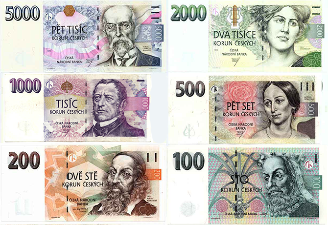 CZK_Banknotes
